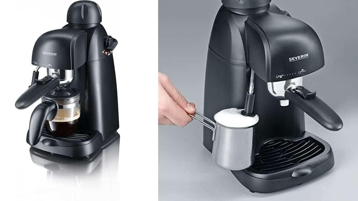 Cafetera Espresso SEVERIN KA 5978 barata, cafeteras baratas, ofertas para casa, chollo