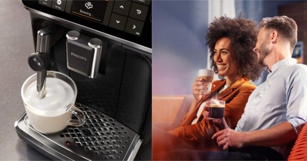 Cafetera superautomática Philips EP4321 barata. Ofertas en cafeteras, cafeteras baratas, chollo