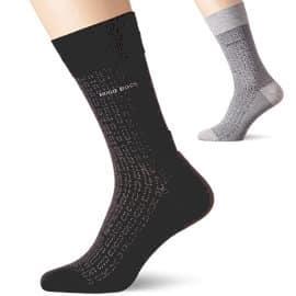 Calcetines para hombre Boss Minipattern baratos, ropa interior barata, ofertas en ropa de marca