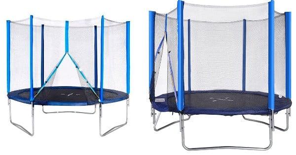 Cama elástica trampolín Bayi de 305cm barata, camas elásticas baratas, chollo