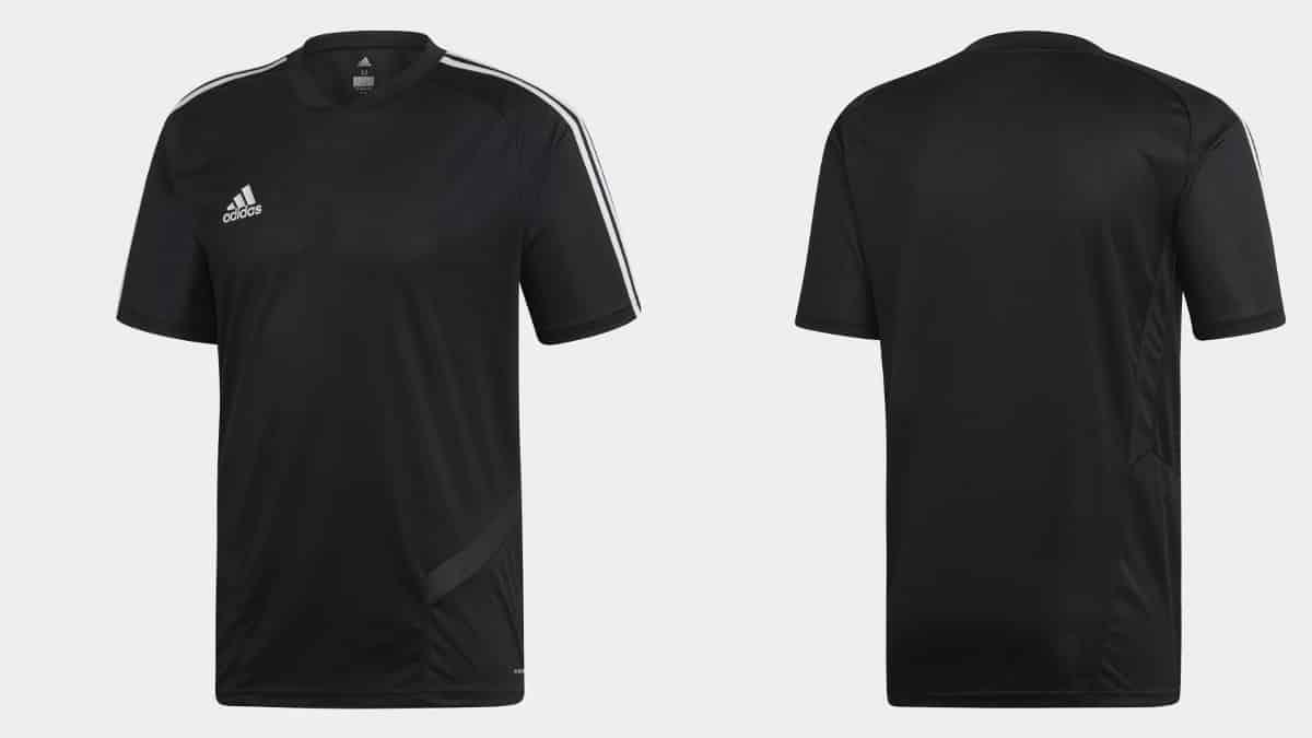 Camiseta Adidas Tiro 19 barata, camisetas baratas, ropa de marca barata, chollo