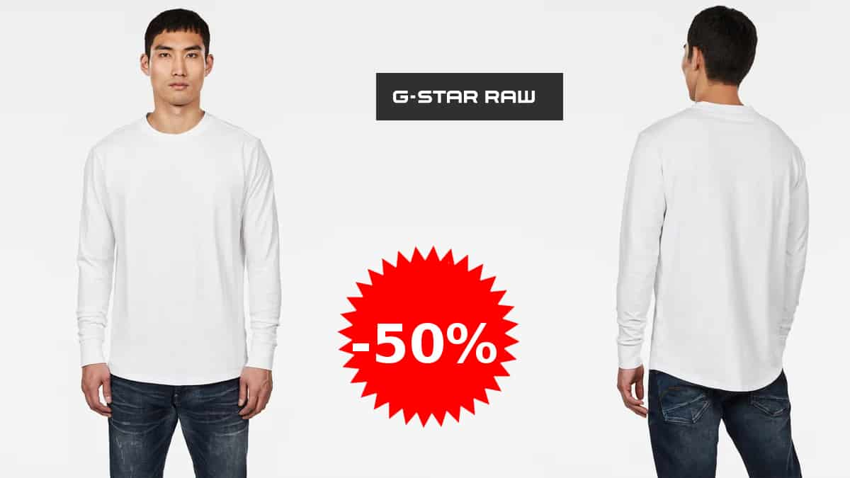 Camiseta G-STAR RAW Swando Loose barata, camisetas baratas, ofertas en ropa de marca, chollo