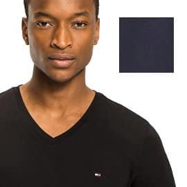 Camiseta básica Tommy Hilfiger barata, ropa de marca barata, ofertas en camisetas