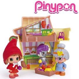 Casa de Caperucita con figuras y accesorios de Pinypon barata, juguetes baratos, ofertas para niños
