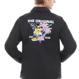 Chaqueta Disney x Vans barata, ropa de marca barata, ofertas en chaquetas