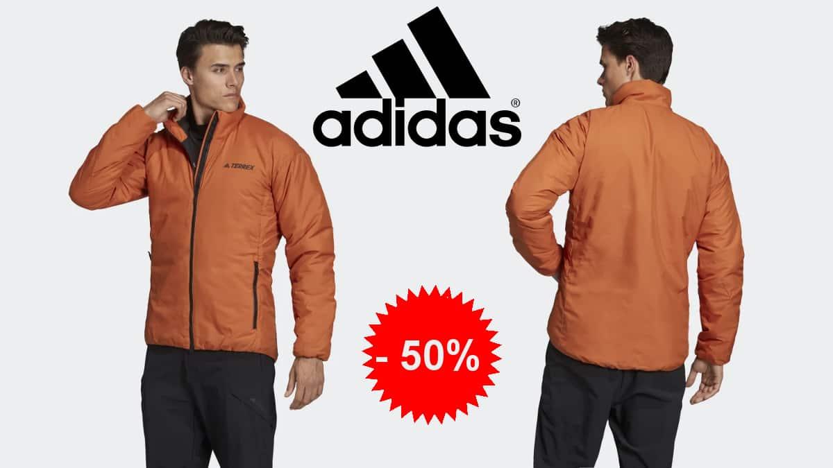 Chaqueta de invierno Adidas Terrex Primaloft Insulation barata, cazadoras baratas, ofertas en ropa de marca, chollo