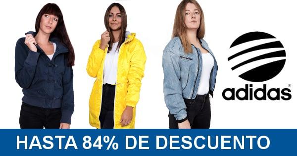 Chaquetas Adidas baratas, ropa de marca barata, ofertas en chaquetas chollo