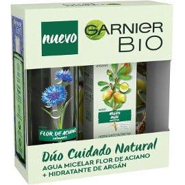 Cofre Rutina Garnier Bio con crema hidratante y agua micelar barato, cremas baratas, ofertas belleza