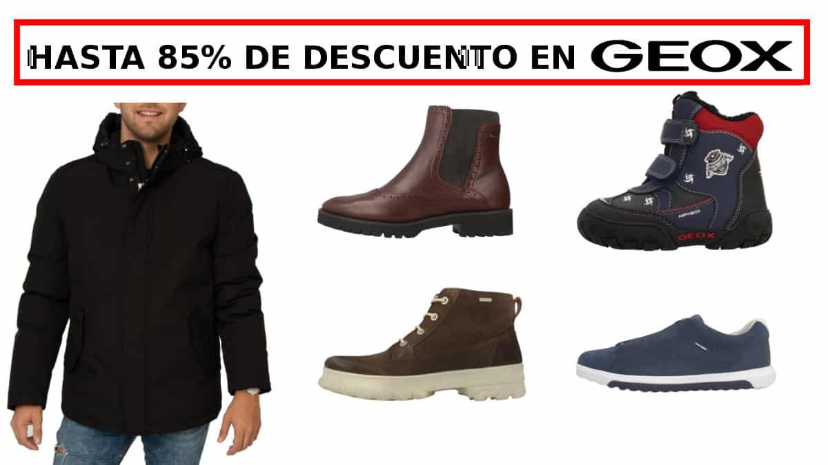Cupon descuento Geox Zacaris barato, calzado de marca barato, ofertas en ropa de marca CHOLLO