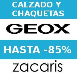 Cupon descuento Geox Zacaris barato, calzado de marca barato, ofertas en ropa de marca