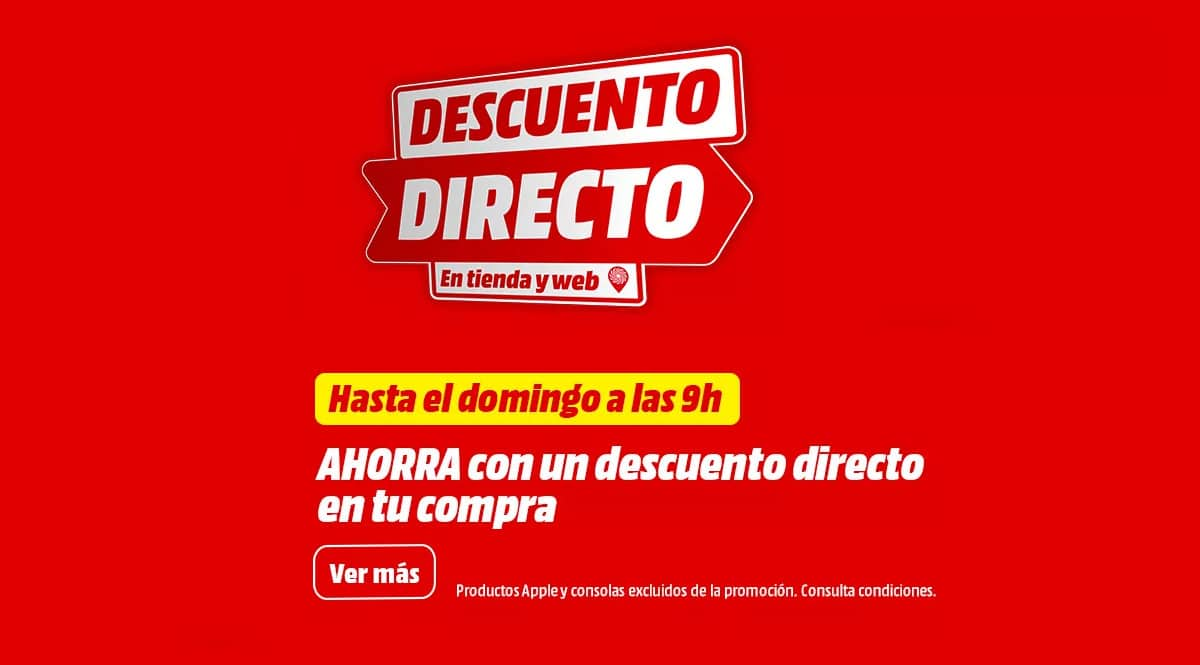 Descuento Directo MediaMarkt Ofertas, chollo