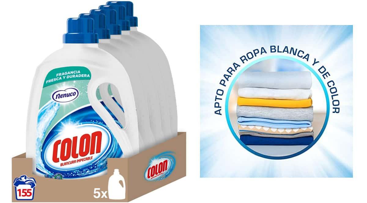 Detergente Colon Nenuco barato. Ofertas en supermercado, chollo