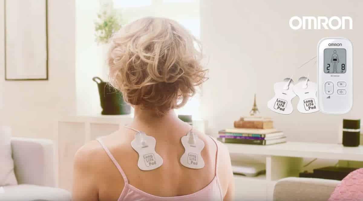 Electroestimulador para aliviar el dolor muscular OMRON E3 Intense barato, electroestimuladores musculares y nerviosos baratos, ofertas salud, chollo