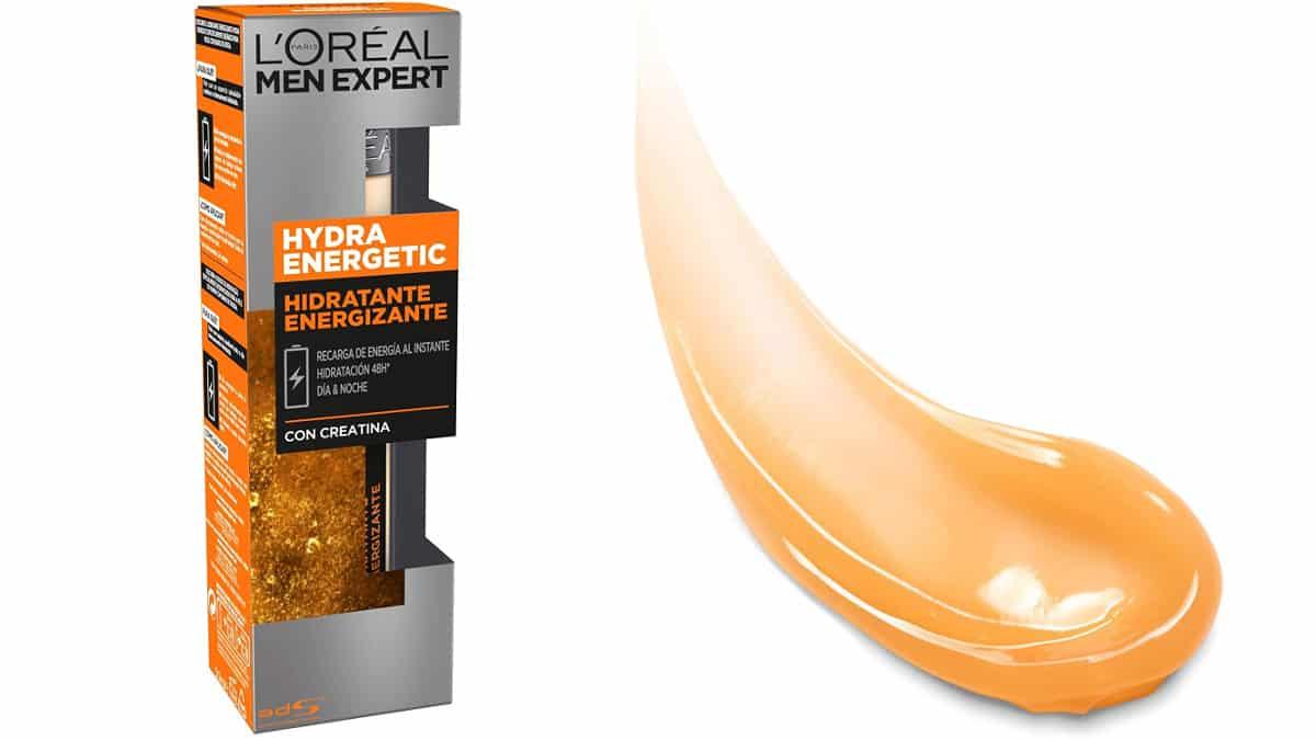 Fluido hidratante Hydra Energetic anti fatiga L'Oréal-Men Expert barato, cremas baratas, ofertas belleza, chollo
