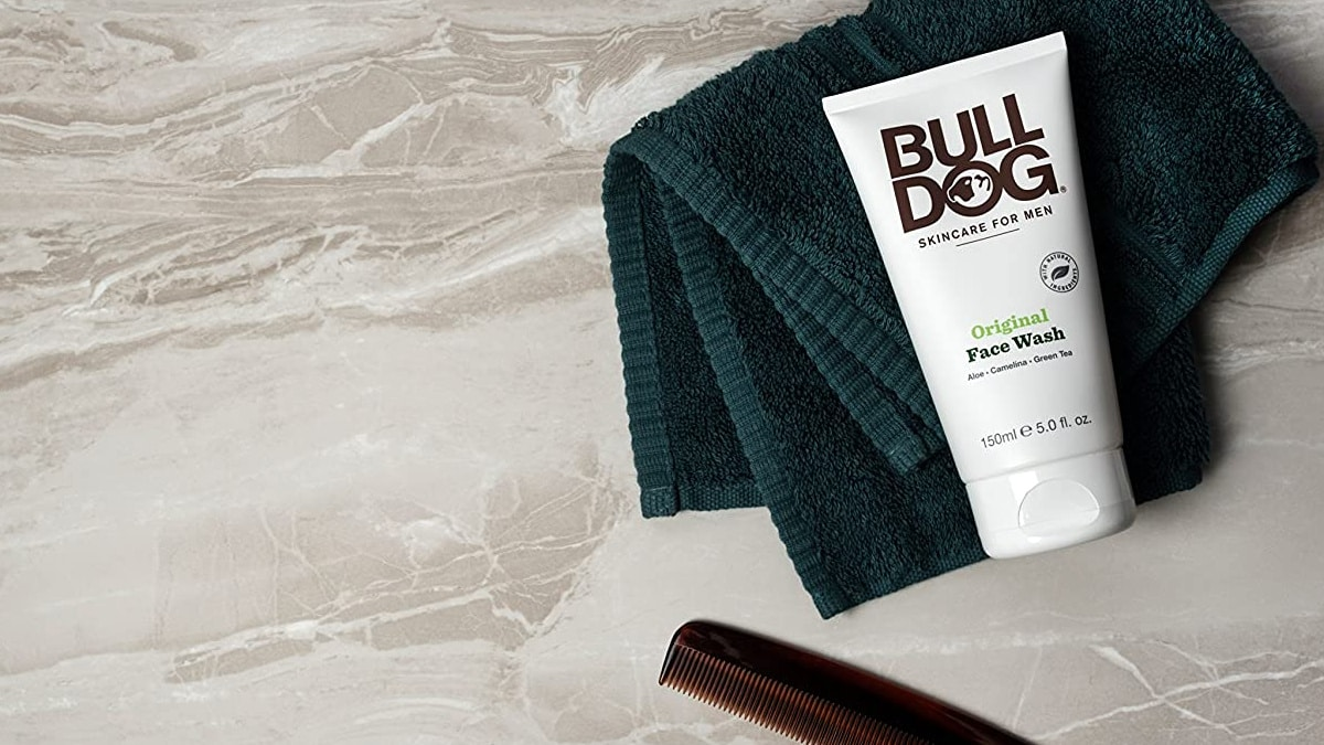 Gel limpiador facial Bulldog barato, cremas para hombre baratas, ofertas belleza, chollo