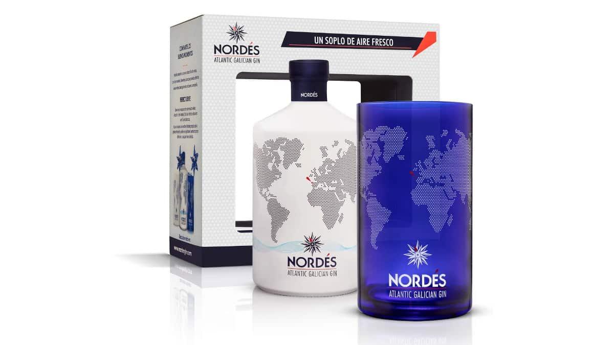 Gin Nordés + vaso coleccionable de regalo, ginebras baratas, chollo