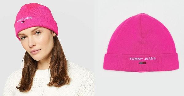 Gorro Tommy Jeans para mujer barato, ropa de marca barata, ofertas en complementos chollo