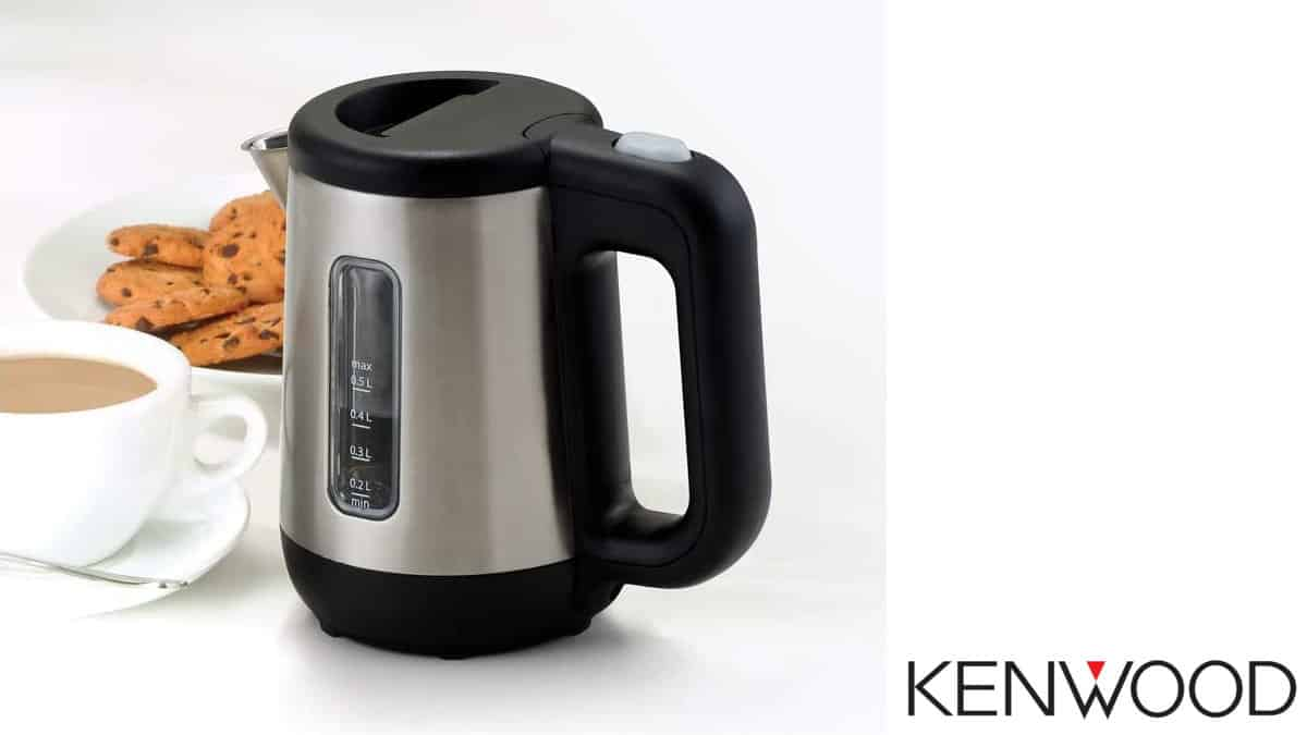 Hervidor de agua eléctrico para viaje Kenwood JKM076 barato, hervidores baratos, ofertas casa, chollo