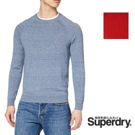 Jersey de punto Superdry Cotton Crew Vintage barato, jerséis baratos, ofertas en ropa de marca