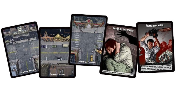 Juego de cartas Edge Entertainment Zombies barato, juegos baratos, ofertas en juguetes chollo