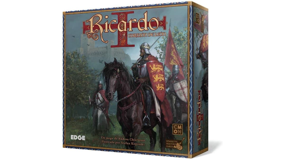 Juego de mesa Ricardo Corazón de León barato, juegos de mesa baratos, chollo