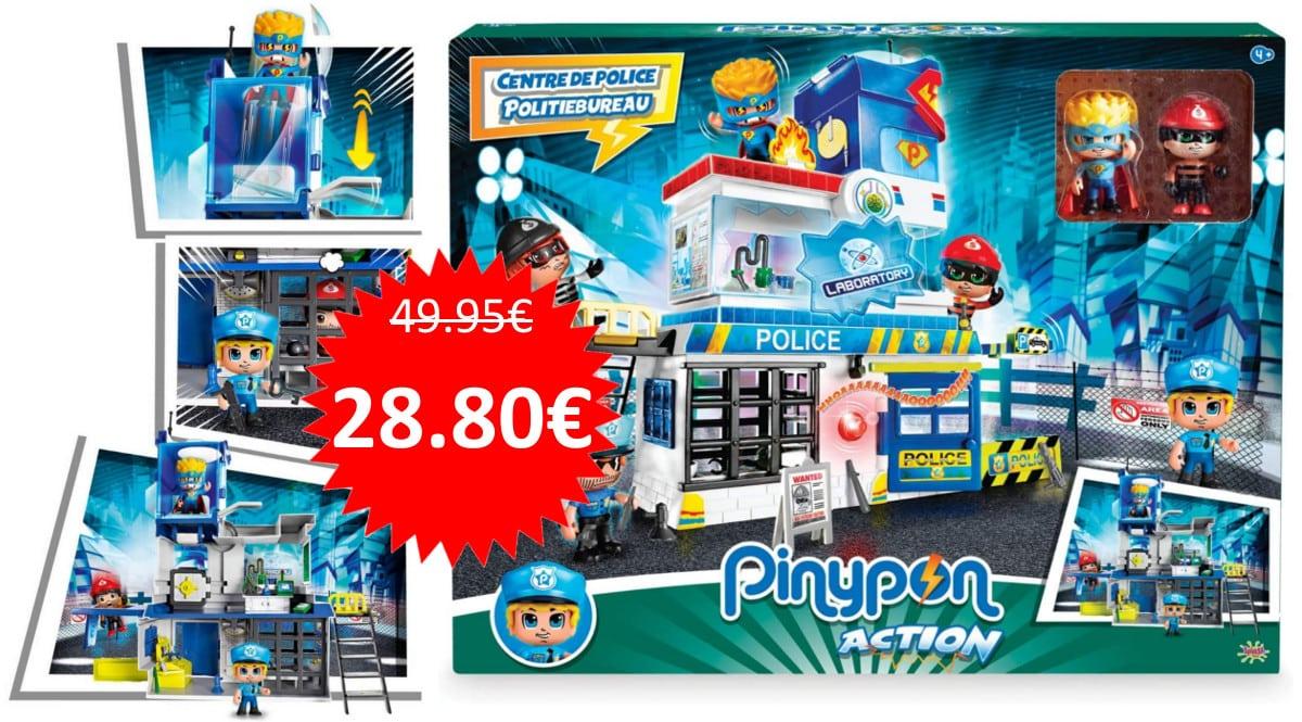 Juguete Pinypon Comisaría con Trampas barata. Ofertas en juguetes, juguetes baratos, chollo