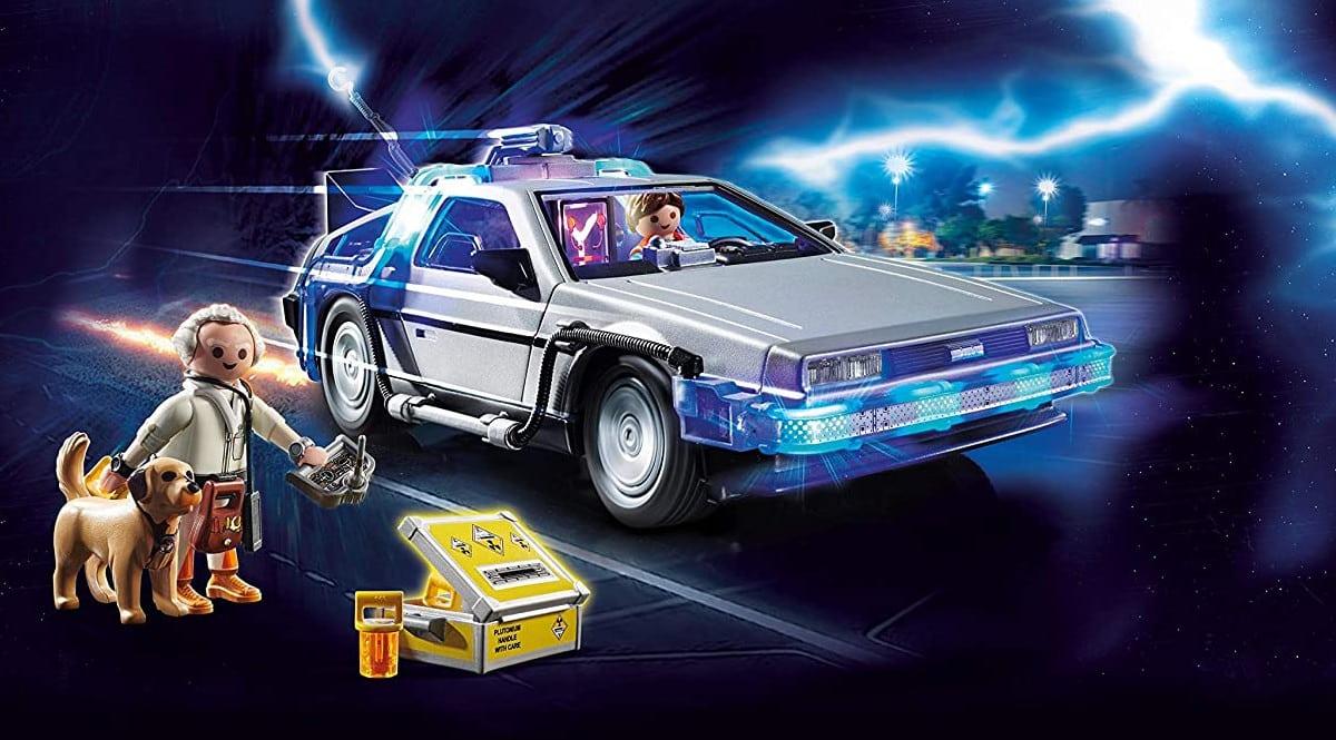 Juguete Playmobil Delorean Regreso al Futuro barato. Ofertas en juguetes, juguetes baratos, chollo
