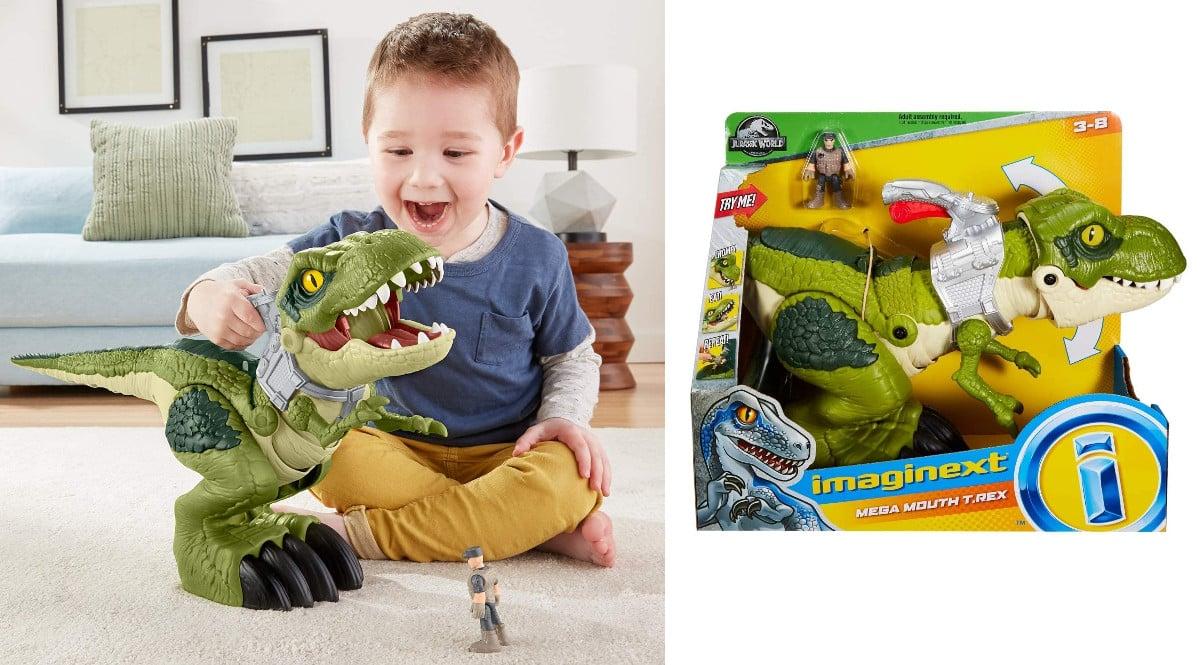 Jurassic World Tiranosaurio Megamandíbula barato, juguetes baratos, chollo
