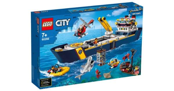 LEGO City Oceans Buque de Exploración barato, LEGO baratos, juguetes baratos, chollo