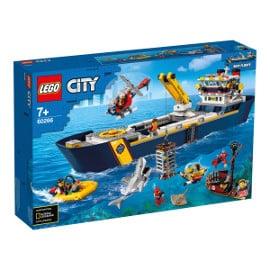 LEGO City Oceans Buque de Exploración barato, LEGO baratos, juguetes baratos