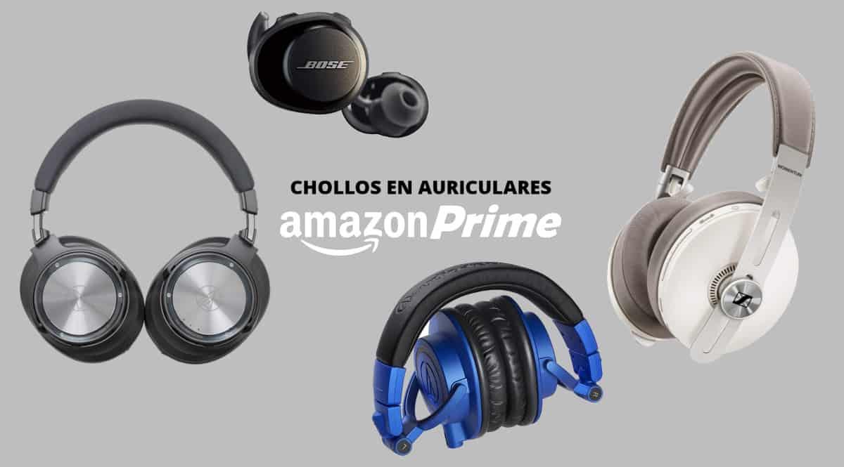 Las mejores ofertas en auriculares del Amazon Prime Day 2020. Ofertas en auriculares, auriculares baratos