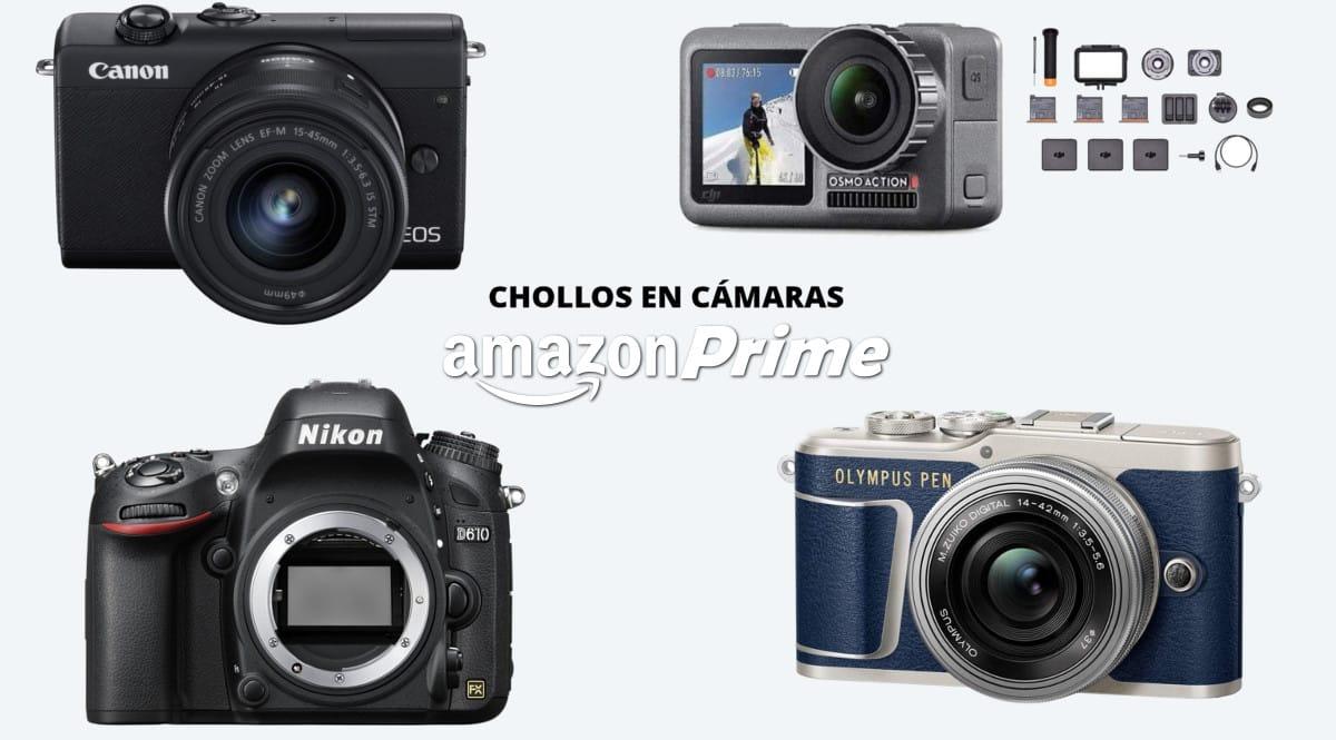 Las mejores ofertas en cámaras de Amazon Prime Day 2020. Ofertas en cámaras, cámaras baratas, chollo