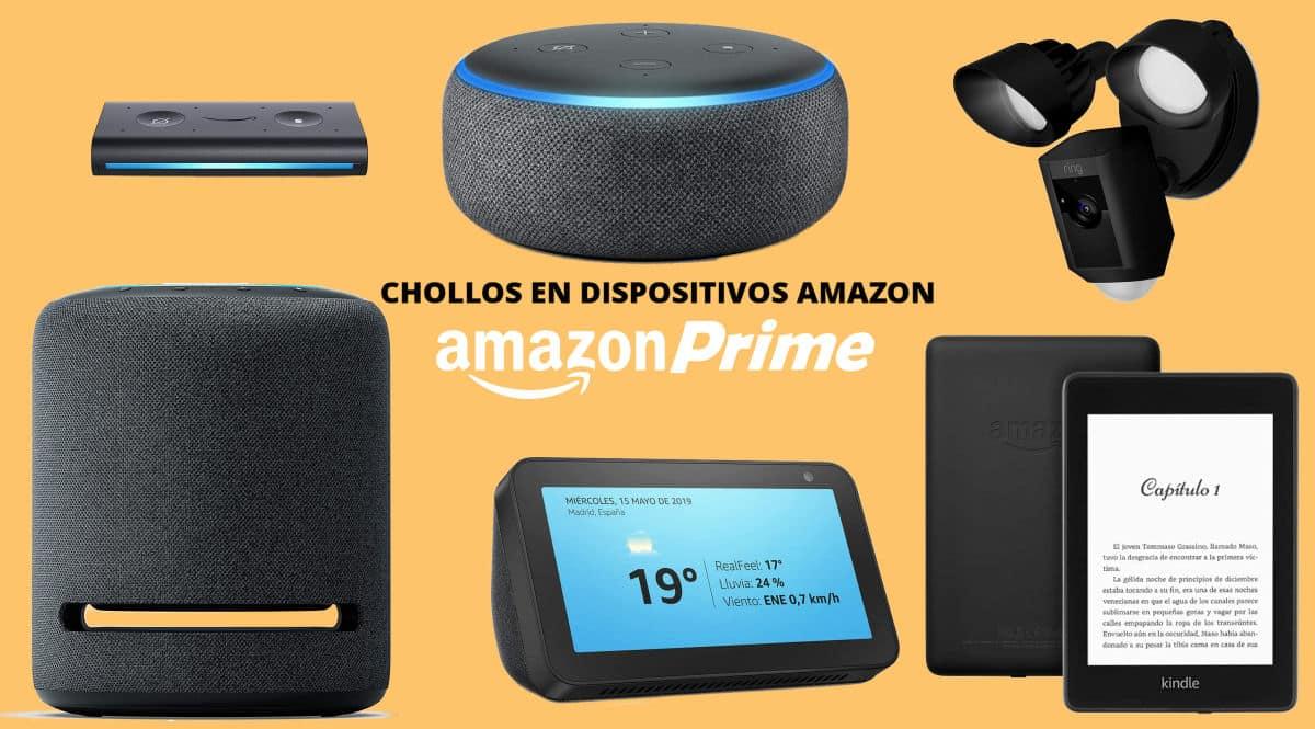 Las mejores ofertas en dispositivos Amazon del Prime Day, Amazon Echo barato, ofertas en Alexa