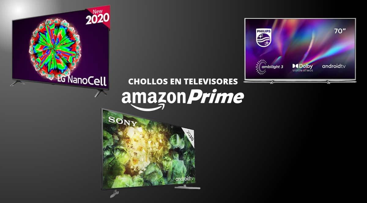 Las mejores ofertas en televisores de Amazon Prime Day 2020. Ofertas en televisores, televisores baratos, chollo