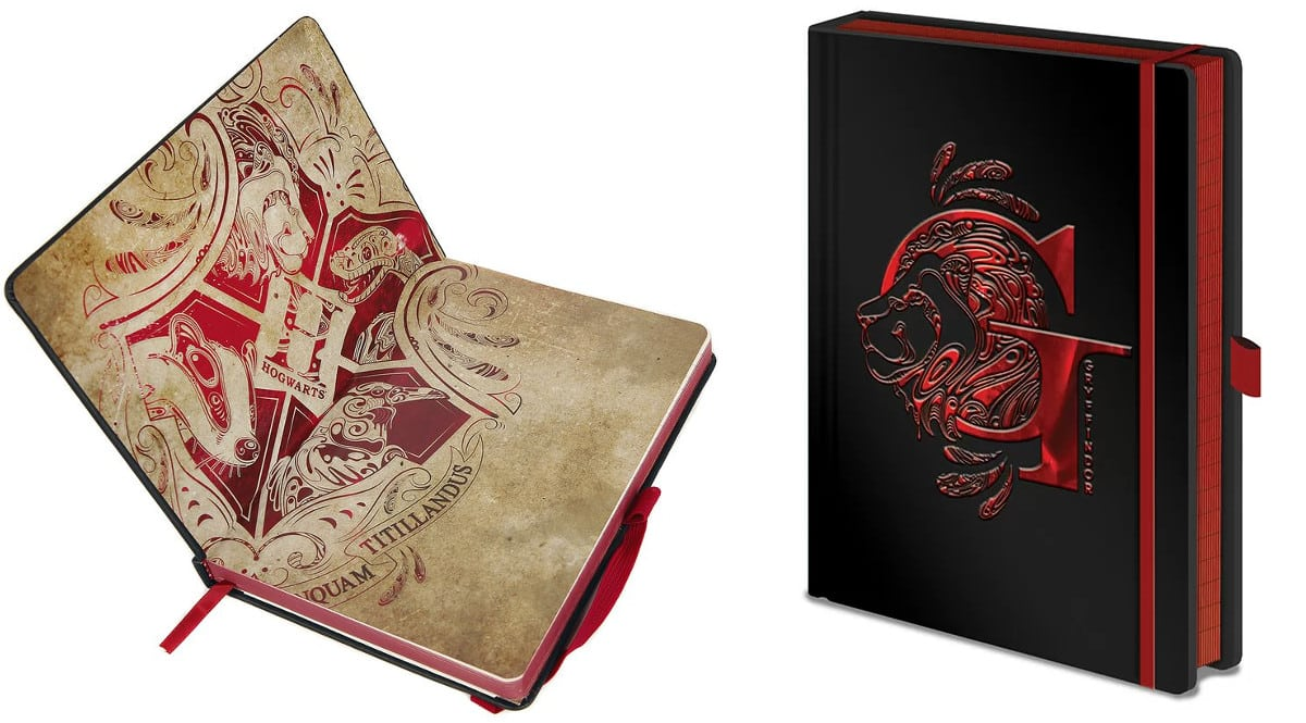 Libreta A5 Harry Potter Gryffindor Premium Notebook barata, libretas baratas, chollo