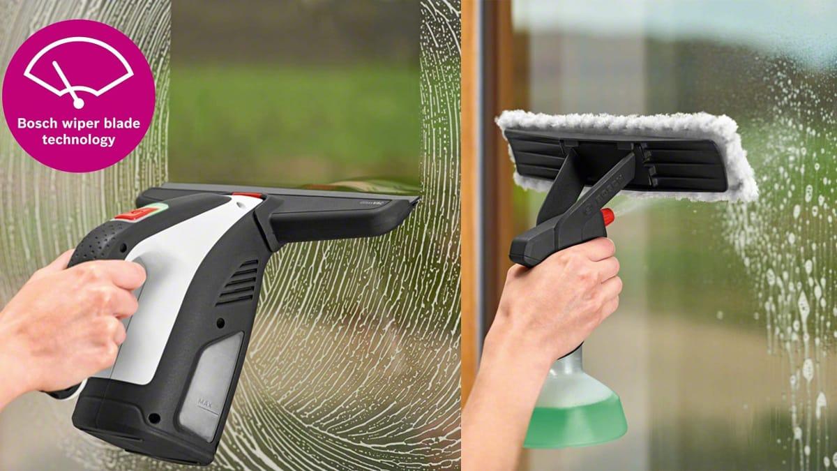 Limpiador de cristales y azulejos Bosch GlassVAC Solo Plus barato, limpia cristales baratos, ofertas limpieza hogar, chollo