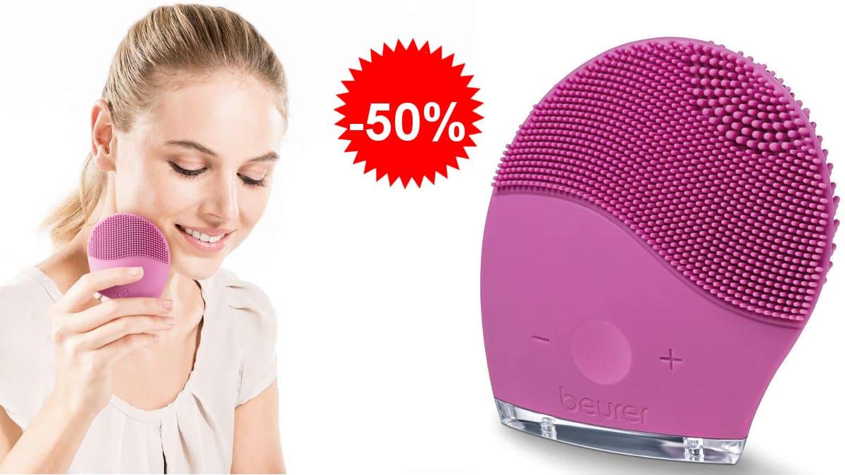 Limpiador facial Beurer FC49, cepillos faciales de marca baratos, ofertas belleza, chollo