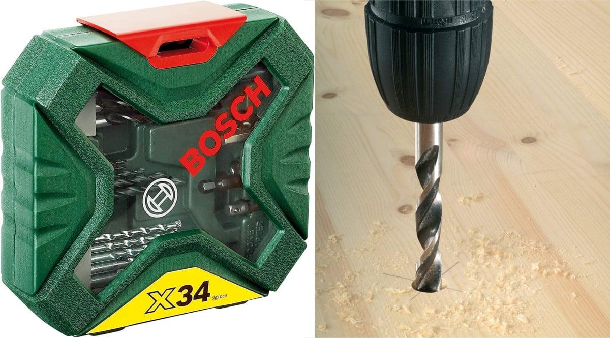 Maletín Bosch X-Line 34 piezas barato. Ofertas en herramientas, herramientas baratas, chollo