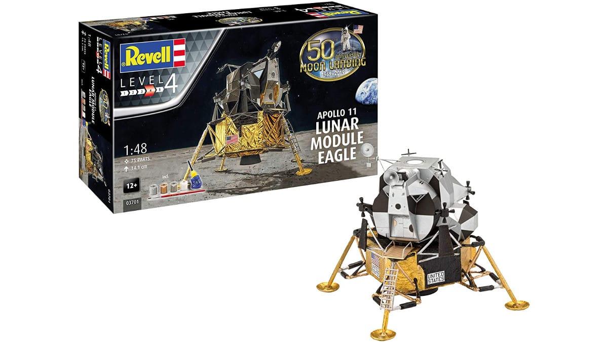Maqueta Revell Apollo 11 Lunar Module Eagle barata, maquetas baratas, chollo