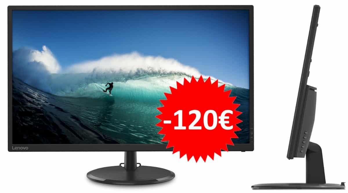 Monitor Lenovo C32q-20 barato. Ofertas en monitores, monitores baratos, chollo