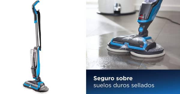 Mopa eléctrica Friegasuelos Bissell SpinWave barata, aspiradoras baratas, ofertas casa, chollo