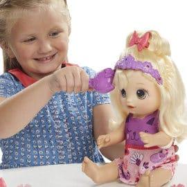 Muñeca Baby Alive Daniela peinados mágicos barata, juguetes baratos, ofertas para niños
