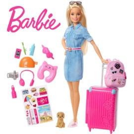Muñeca Barbie Vamos de Viaje barata. Oferta en juguetes, juguetes baratos