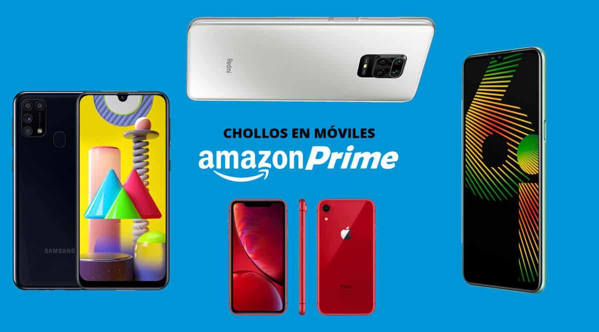 Móviles baratos en Prime Day, ofertas en móviles, chollo