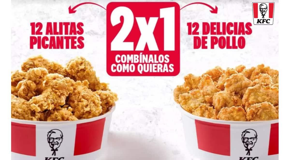 Oferta KFC en Groupon, chollo
