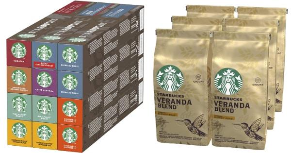 Ofertas Prime Day en café Starbucks, café en grano y en cápsulas barato, ofertas supermercado, chollo