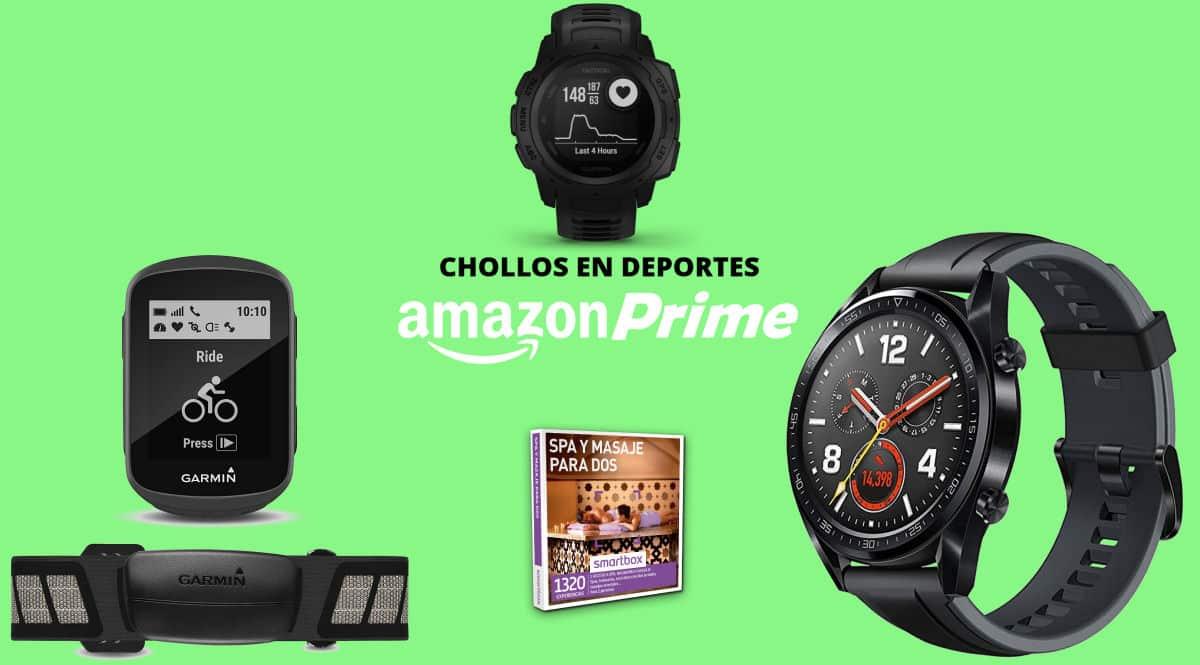 Ofertas deportivas en el Prime Day, pulsómetros baratos, ofertas en zapatillas