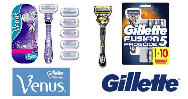 Ofertas en maquinillas de afeitar Gillette, maquinillas de afeitar baratas, ofertas supermercado, chollo