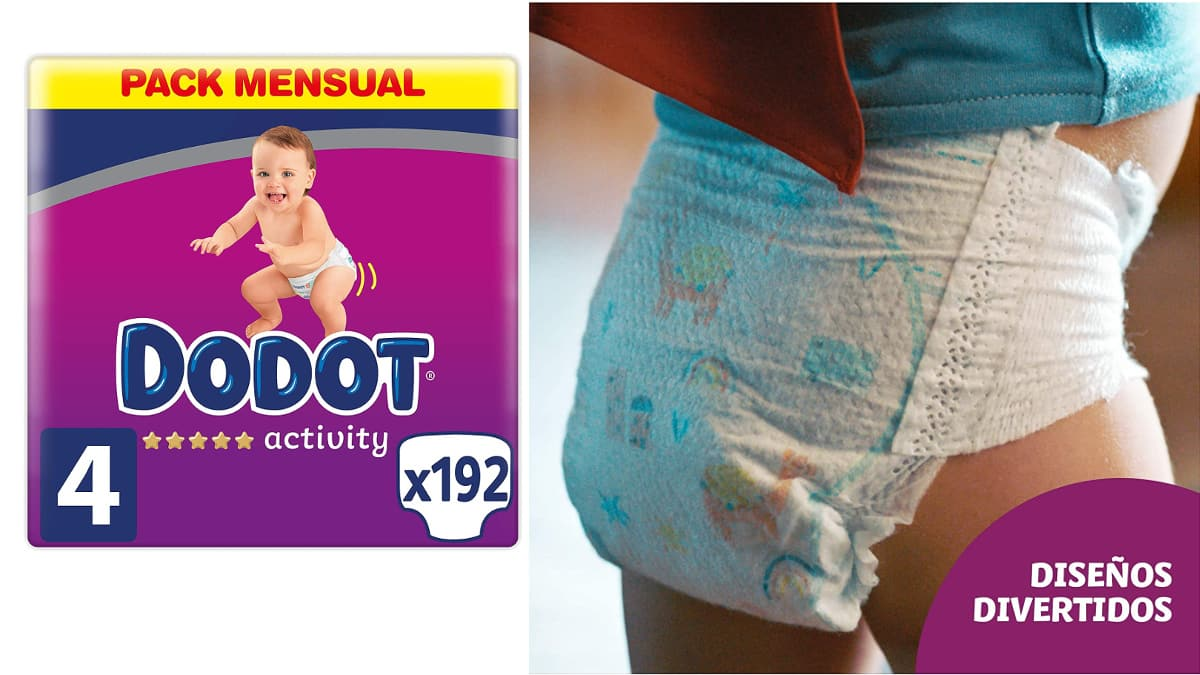 Pañales Dodot Activity Pants baratos, pañales de marca baratos, ofertas supermercado, chollo