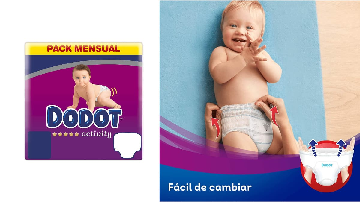 carrefour online pañales dodot